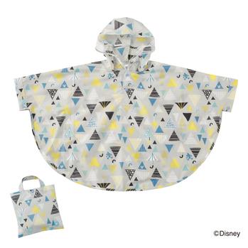 kukka hippo Disneyキャラクターレインポンチョ 90cm ミッキーマウス/傘